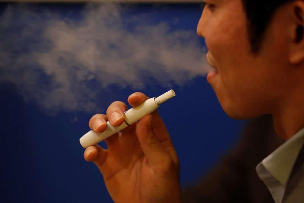 Un amateur de Cigarette IQOS