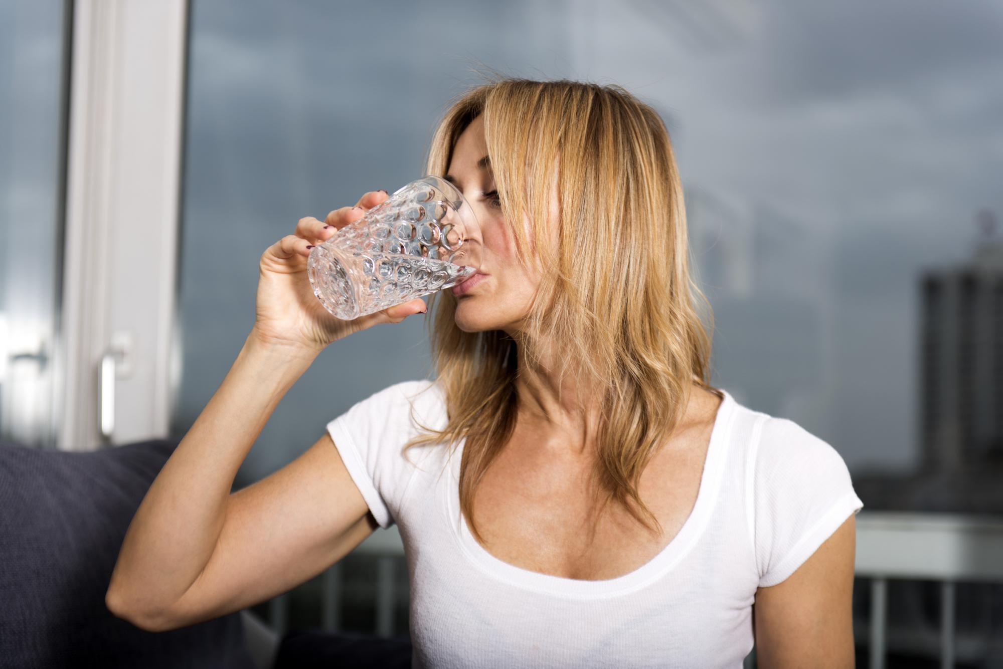 Boire assez d'eau pour maigrir